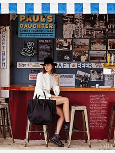 Coach in Spur with Maaike Klaasen wearing Coach - Fashion Editorial | Magazines | The FMD #lovefmd