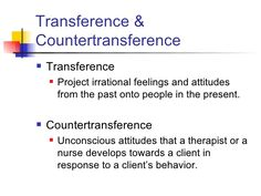 what is countertransference in mental health