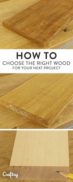 To choose the right wood for any project, you need to know how it will perform regarding wood movement. Learn how it works and avoid disappointments. #woodworkingtips
