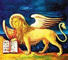"""https://flic.kr/p/7ra3xe   Stemma del Veneto (Veneto icon)   E' costituito dalla rappresentazione del territorio regionale veneto con il mare, la pianura e i monti. In primo piano è raffigurato il leone di San Marco Per """"Leone di san Marco"""" o """"Leone marciano"""" o """"Leone alato"""" si intende la rappresentazione simbolica dell'evangelista san Marco, raffigurato in forma di leone alato. Altri elementi in varie combinazioni presenti sono: l'aureola sul capo e un libro ed una spada tra le zampe. Il…"""