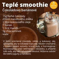 Blog Online, Fruit Smoothies, Food And Drink, Low Carb, Healthy Recipes, Fresh, Drinks, Cooking, Diet