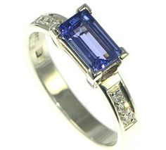tanzanite - the completely perfect shade of periwinkle in my book!