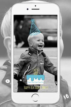 Custom On-Demand Snapchat Geofilter: Birthday Cake & Hat Snapchat Geofilter --- Only $24 from Makeshake Artist Jake Miller  #snapchat #custom #customgeofilters #geofilter #filter #party #celebration