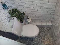 Stunning Understairs Toilet Idea Subway Victorian Tiles Pics Of Bathroom Designs Under Stairs Style And For Popular Bathroom Designs Under Stairs - Bathroom Design Contemporary Small Downstairs Toilet, Small Toilet Room, Downstairs Cloakroom, Small Bathroom, Porch With Toilet, Small Cloakroom Basin, Toilet Room Decor, Bathrooms, Bathroom Sinks