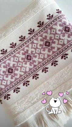 Cute Cross Stitch, Cross Stitch Borders, Cross Stitch Rose, Cross Stitch Designs, Cross Stitch Patterns, Kasuti Embroidery, Swedish Embroidery, Cross Stitch Embroidery, Embroidery Designs