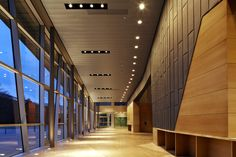 Utah State University Recital Hall, Logan, UT. Architect: Sasaki Associates (Photo: Robert Benson Photography)