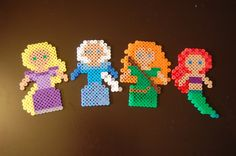 Hey, I found this really awesome Etsy listing at https://www.etsy.com/listing/189716821/disney-princess-perler-any-other