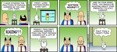 Dilbert comic strip for 12/08/2013 from the official Dilbert comic strips archive.