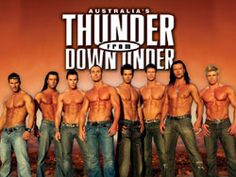 Thunder From Down Under at Excalibur
