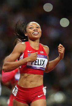 Allyson Felix -Gold 200m