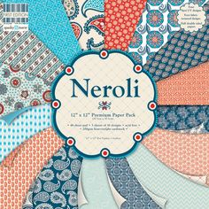 First Edition Neroli Premium Paper Pad 12 X 12 Assorted | Hobbycraft