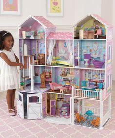 KidKraft Country Estate Dollhouse | zulily www.coolestkidtoys.com #AD #christmas2015 #dollhouse