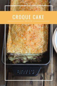 Le croque-cake : terriblement gourmand ! Découvrez vite la recette. #croquemonsieur #academiedugout