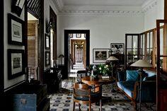 Cheap Home Decoration Stores Dark Interiors, Beautiful Interiors, Indonesian Decor, Asian Interior Design, British Colonial Decor, Cafe Interior, Small Apartments, Home Fashion, Interior Architecture