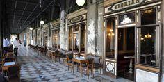Caffe Florian Venezia Venice, Italy building chair restaurant arcade