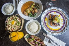 Platito is dishing out Filipino soul food one small plate at a time. The restaurant takes over the two storey Baldwin Village address that was formerly . Crystal Light Fixture, Light Fixtures, Small Plates, Filipino, Soul Food, Toronto, Brunch, Dishes, Travelogue