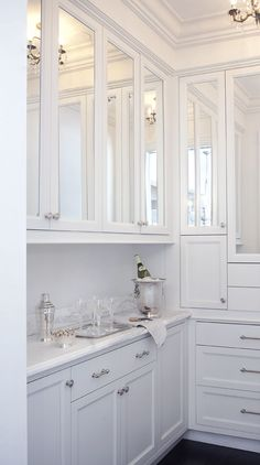 Mirrored cabinets charisma design