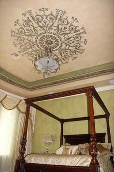 I love the ceiling idea!