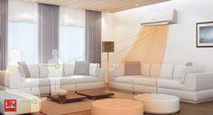 Bedre inneklima og lavere strømutgifter med varmepumpe | General Couch, Furniture, Home Decor, Settee, Decoration Home, Sofa, Room Decor, Home Furnishings, Sofas