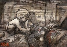 Cute kakashi and son