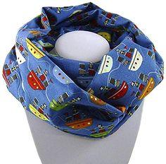 Leichter Kinder-Loop Schlauchschal SCHIFFE auf blau - 100% Baumwolle - NEUE KOLLEKTION 2015 bettina bruder® bettina bruder http://www.amazon.de/dp/B016QQ8HQK/ref=cm_sw_r_pi_dp_Httiwb0HH7AAF
