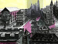 sketchbook in progress Sketches, Illustrations, Movie Posters, Art, Drawings, Art Background, Illustration, Film Poster, Kunst
