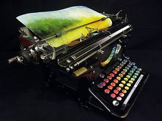 Chromatic Typewriter by Tyree Callahan by re-Design, via Flickr