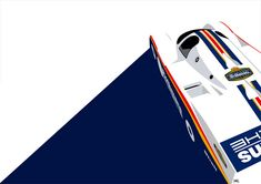 A beautifull representation of the mythic 1985 Porsche Rothmans 962C-003. An awesome job of Ricardo Santos.