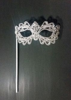 Rhinestone cristal Masquerade máscara/Masquerade
