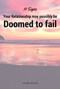 Here are 10 signs your relationship might possibly be doomed to fail. There are more but these were obvious ones when my marriage was headed for the end. Failing Marriage Signs, Saving Your Marriage, Save My Marriage, Marriage Advice, Couple Questions, This Or That Questions, Questions To Ask Your Boyfriend, Emotional Affair, Best Man Speech