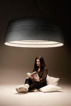 Soundless Light Pendant // Ola Gillgren
