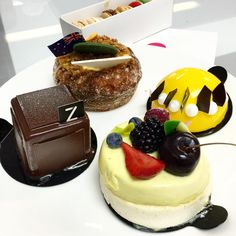 Zumbo Patisserie at The Star | 80 Pyrmont St Pyrmont Sydney | Mon 1100 to 2200, Tues-Thurs 1100 to 2300, Fri-Sat 1100 to 2400 & Sun 1100 to 2100 | Perfect Little Cakes - V8 Nutella, Pavlova, Coconut, and Zonut