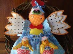 Qmimos - Fazendo Arte brincando: Qmimos Guirlanda Galinha com Pintinhos Candy Crush Saga, Chicken Crafts, Foam Crafts, Christmas Ornaments, Future, Holiday Decor, Ideas, Craft Foam, Make Art