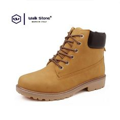 2016 Autumn Winter Plus Size Brand Men Shoes Martin Boots Suede Leather Warm Snow Boots Outdoor Casual Timber Boots Botas Hombre #>=#>=#>=#>=#> Click on the pin to check out discount price, color, size, shipping, etc. Save and like it!