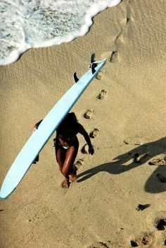 Bucket list for this summer: learn to surf!