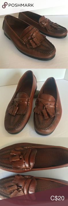 Men's Dexter Loafers Size 8 M Brown Leather Loafer Shoes, Loafers Men, Soft Leather, Brown Leather, Dexter Shoes, Comfortable Shoes, Boat Shoes, Minimal, Oxford Shoes