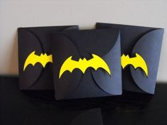 Batman Party Invitations I want to try!