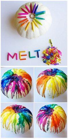Crayon Melt and Drip