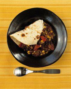 Black-Bean-and-Corn Stew Recipe
