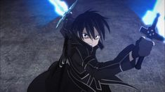 Anime similar/like Sword Art Online English subbed/dubbed episodes Kirito Sword, Sword Art Online Kirito, Kirito Kirigaya, Kirito Asuna, Pokemon Gif, Kunst Online, Online Art, Espada Anime, Sexy Cartoons