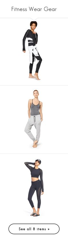 """""""Fitness Wear Gear"""" by madamshante17 ❤ liked on Polyvore featuring intimates, shapewear, pants, ivy park, activewear, activewear pants, dark grey marl, ivy park activewear, activewear tops and athletic tops"""