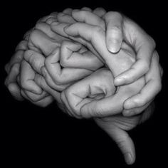 Neuroscience = this may be the nerd in me, but I think this is cool! Brain made of hands! Conceptual Photography, Abstract Photography, White Photography, Medical Photography, Poetry Photography, Photography Lessons, Think Big, Jolie Photo, Optical Illusions