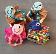 Sujeta chupetes /Chupetero hecho a mano en ganchillo / crochet handmaded pacifier clip by Pitis&Lilus