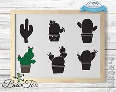Your place to buy and sell all things handmade How To Make Stickers, Clear Stickers, Cactus Clipart, Bunny Drawing, Sketch 2, Vector File, Handmade Art, Cool Cats, Planner Stickers