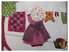 Image result for patchwork muñecas sunbonnet