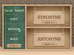 Educational Apps: Synonym or Antonym? A free leveled app for matching synonyms and antonyms. Speech Language Therapy, Speech And Language, Speech Therapy, Language Arts, Speech Pathology, Creative Teaching, Teaching Tools, Teaching Ideas, Synonyms And Antonyms