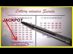 Secret Lottery Strategy To Identify – redpapoa Lotto Winners, Winning Lottery Numbers, Lotto Numbers, Lottery Winner, Winning The Lottery, Winning Powerball, Lottery Strategy, Lottery Tips, Lottery Games