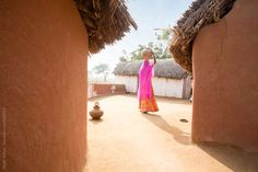 Typical village in Rajasthan. India by Hugh Sitton - Stocksy United Water Issues, Incredible India, The Incredibles, The Unit, Stock Photos, Image