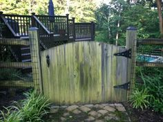gate for split rail fence