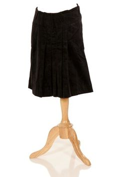 f06294b71af7b Lilo Maternity Corduroy Pleated Skirt Medium Short >>> More info could be  found at